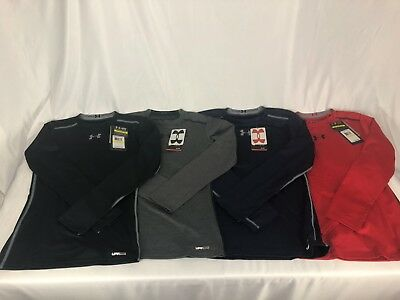 Under Armour UA Boys' Long Sleeve Sonic Fitted T-Shirt $29.99 MSRP