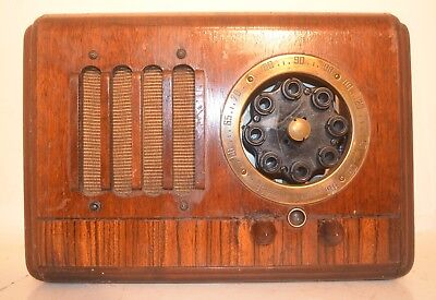 Scarce Art Deco General Electric Radio Receiver With Telephone Dial