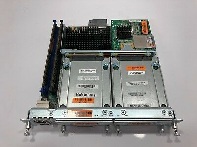Cisco UCS-E140S-M2/K9 Server, 16GB Ram, 2x1TB SATA, 2x8GB SD, E100S-HDD-SATA1T