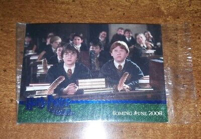 Harry Potter Chamber of Secrets COS 2005 Promo Card Pack Artbox