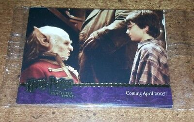 Harry Potter Sorcerers Stone SS 2004 Promo Card Pack Artbox