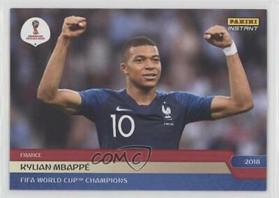 2018 Panini Instant #282 Kylian Mbappe RC Goal France Wins FIFA World Cup Final