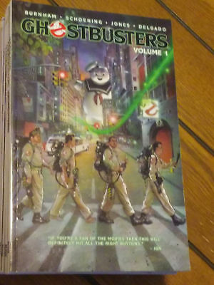 IDW Ghostbusters Comic Collection 11 Books: Volume 1-9, Real Ghostbusters, TMNT