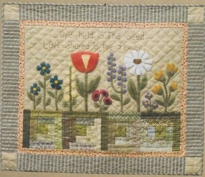 Love Shared - sweet pieced & applique wall quilt PATTERN - Timeless Traditions