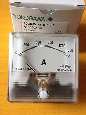 1PC YOKOGAWA current table electricity table minority table 2093A 10