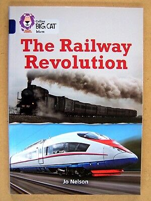 """THE RAILWAY REVOLUTION."" WORLD TRAINS Book."