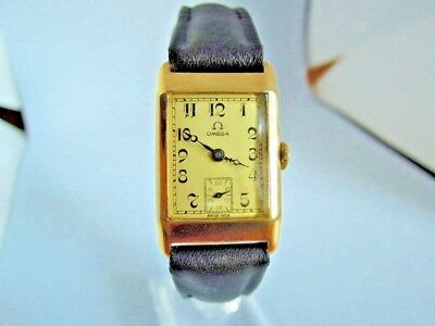 OMEGA - 14k Gold  - Art Deco - ca. 1935