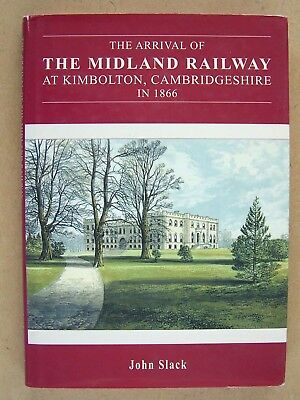 The Midland Railway at Kimbolton, Cambridgshire in 1866.