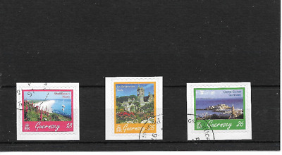 GUERNSEY 1997 Scenes Self-adhesive set - SG 737/39 - used