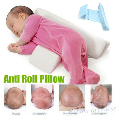 Baby Sleep Pillow Wedge Infant Side Sleeping Prevent Flat Head Support Pillows