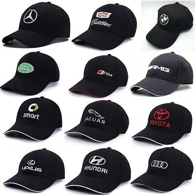 Hight qualtity baseball hat car cap for BMW Mercedes Audi Adjustable buckle