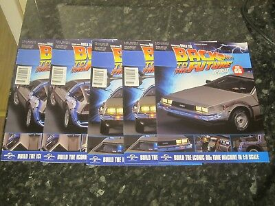 Eaglemoss Back To The Future Build Your Own Delorean - Issues 60, 61 & 66