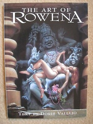 Rowena Morrill – The Art of Rowena – SIGNED 1st printing softcover – Paper Tiger