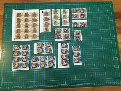 Great Britain Christmas stamps 1960's and 70's