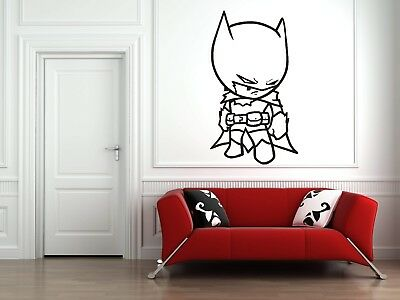 Wall Sticker Mural Decal Vinyl Decor  Batman Hero Hollywood Move