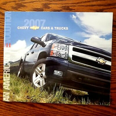 2007 Chevy Full Line Cars and Trucks 44-page Original Sales Brochure