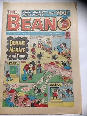 DC Thompson THE BEANO Comic. Issue 2145 August 27th 1983 **Free UK Postage**