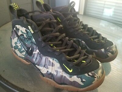 fade71942087d Nike Air Foamposite Pro Army Camo VNDS Size 10.5 587547-300 2013 release