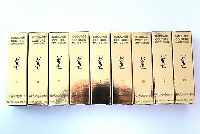 YSL Yves Saint Laurent Tatouage Couture Matte Stain 6ml - Please Choose Shade:
