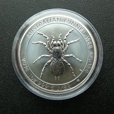 2015 Funnel Web Spider Perth Mint 1 oz. 999 SOLID SILVER Bullion coin