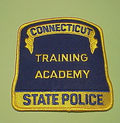 Connecticut  State Police Training Academy  Police Dept. Patch  Free Shipping!!!