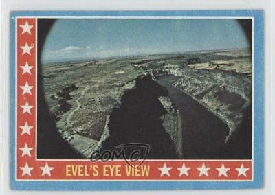 1974 Topps Evel Knievel #53 Evel's Eye View Non-Sports Card 0s4