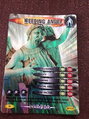 Doctor Who Battles in Time Super Rare card #462 Weeping Angel