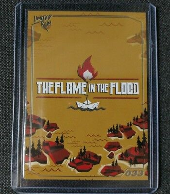 The Flame in the Flood  - PlayStation - Limited Run Games Trading Card 033 - NEW