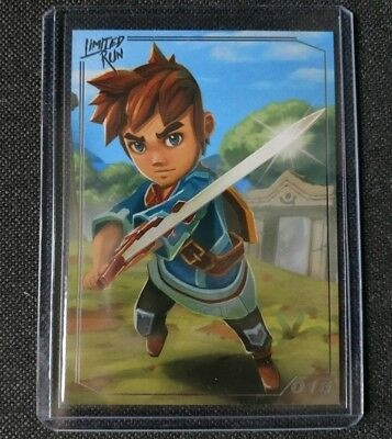 Oceanhorn  - PlayStation - Limited Run Games Trading Card 015 - NEW