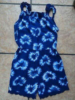 Blue and White Playsuit for 5 - 6 Yr Old