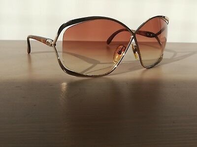 Vintage Christian Dior 2056 47 The Butterfly Sunglasses With Case Made In German