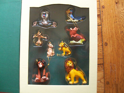 Disney Lion King Christmas Collection Ornaments