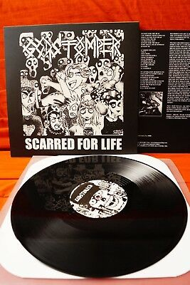 Godstomper / Daybreak - Scarred For Life/Nautical Hyperblast (split LP)