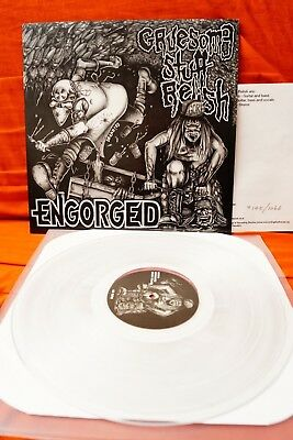 "Engorged / Gruesome Stuff Relish  (12"", EP, Ltd, Clear)"