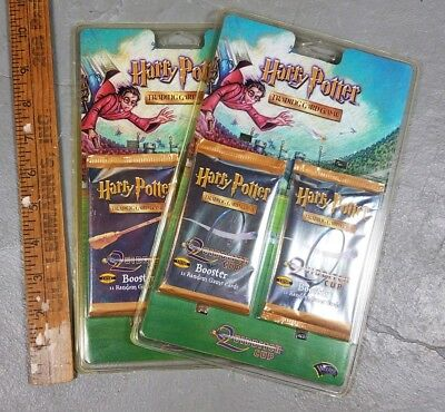 New Harry Potter Quidditch Cup Trading Card Game Boosters Rare
