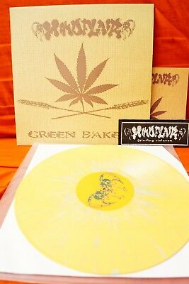 Mindflair - Green Bakery (LP, Album, Ltd, Num, orange-green splatter)