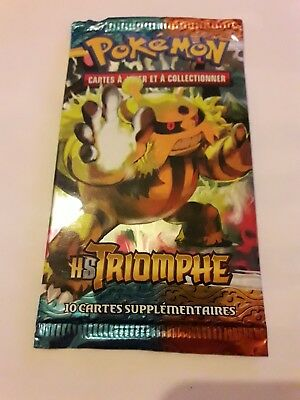 Booster pokemon HS TRIOMPHE FR