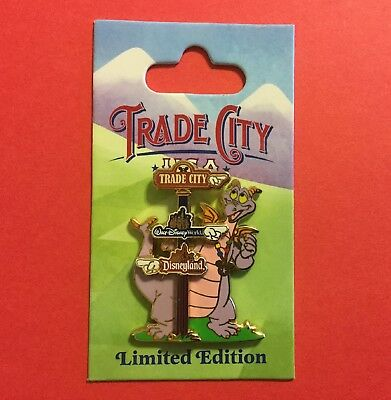 Wdw - Trade City, Usa - Disney Pin Celebration 2010 - Directional Sign Figment