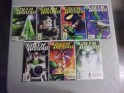 Green Arrow #1-21 Complete Kevin Smith & Brad Meltzer Set (Kevin Smith Signed!)