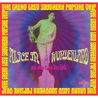 Various ‎– Alice In Wonderland: The Great Lost Southern Popsike Trip (2CD)  NEW