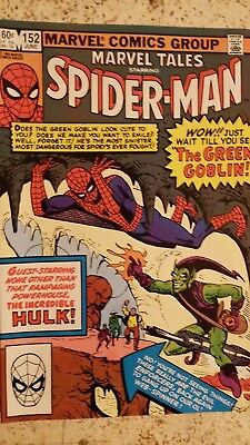 Marvel Tales 152 VF (reprints Amazing Spider-Man 14) Green Goblin