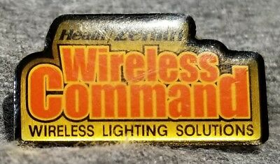 LMH PINBACK Pin HEATH ZENITH Wireless Lighting Command HOME DEPOT Employee Apron
