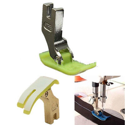 2pcs Industrial Sewing Machine Teflon Foot Heavy Brother Singer Janome ToyotaBCL