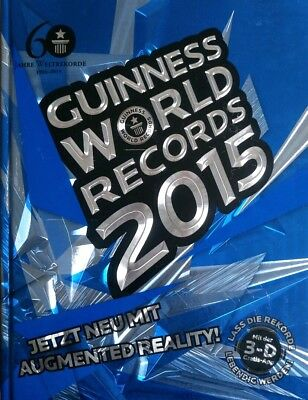 Guinness World Records 2015 - Guinnessbuch der Rekorde Rekordebuch