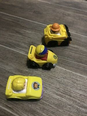 fisher price little people small bundle cars / figures