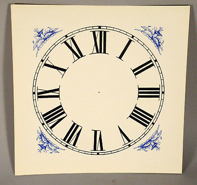 Clock Dial, OG, OGEE Original Style Paper Replacement New Old Stock