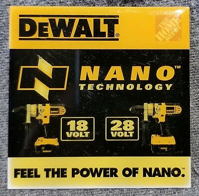 LMH PINBACK Pin DeWALT Tools NANO Technology HOME DEPOT Employee Drills 18v 28v