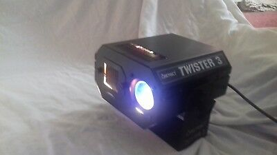 DJ Fx LIght Abstract Twister 3 Effects Projector