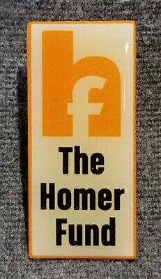 LMH PINBACK Pin HOMER FUND Foundation Charity HOME DEPOT Employee Apron 1-1/4""