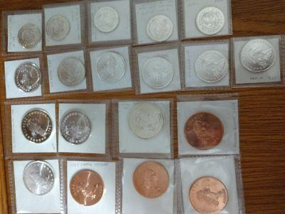 Gallery Mint Coin  Estate Sale - Lot Of 19 Ea,1794 Thru 1796 Dollars, 1/2 + 1/4$